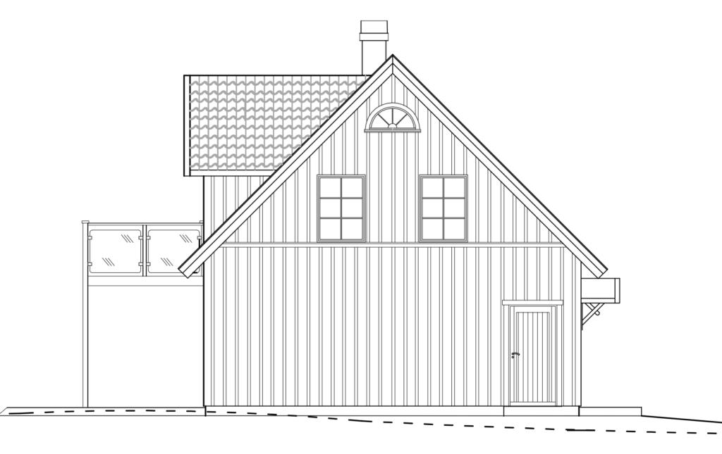 Håkanson Bygg - Fridkulla gavel