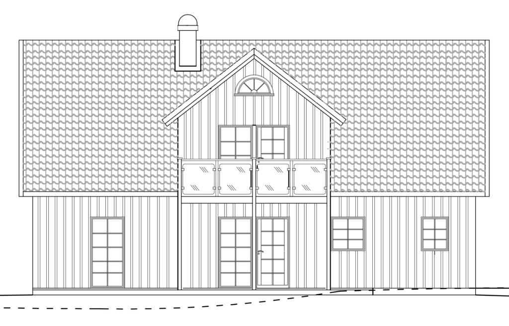 Håkanson Bygg - Fridkulla långsida